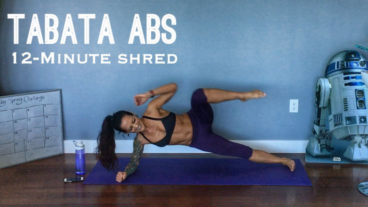 "Spring is here! Let's start this month off right together with an awesome workout for our core that will strengthen and define the abs… Tabatas are a super efficient (4 minute) way to get an awesome cardio burn in a short time. I like to stack 3 of them together in what I call ""Endurance Tabatas"" …"