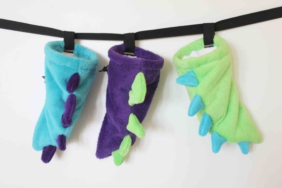 Dino Tail - Rock Climbing Chalk Bag