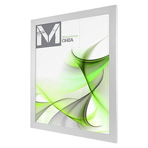 Cadre photo MONZA 60 x 90 cm Blanc (mat): Format de cadre '60 x 90 cm' mesures intérieures ; l'objet à encadrer doit être conforme au…
