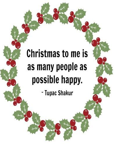 Christmas to me ... | Heartwarming Celebrity Christmas Quotes | The Stir