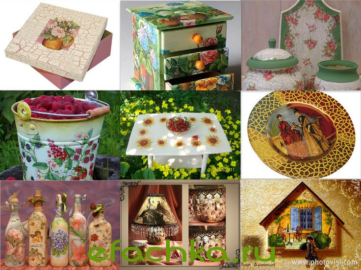 Decoupage. Ideas for inspiration. . Discussion on LiveInternet - Russian Service Online Diaries