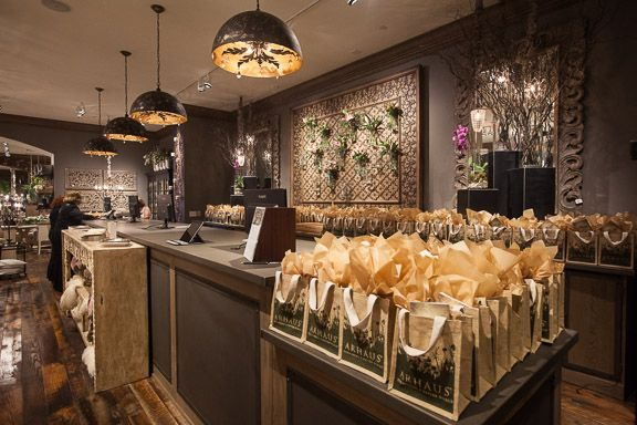 Opening Wedding Gifts: Gift Bags Were Assembled For All Who Attended The Arhaus