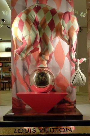 Louis Vuitton Circus windows, Paris visual merchandising by alexis