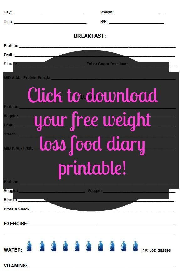 Free and Customizable Weight Loss Journal Printable - Easily customize to whatev.... ** See even more at the image link