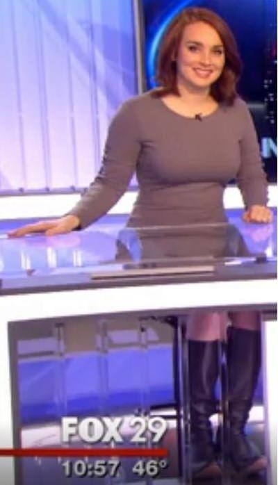 Monica Cryan Philadelphia Tv Meteorologist Tightshirts