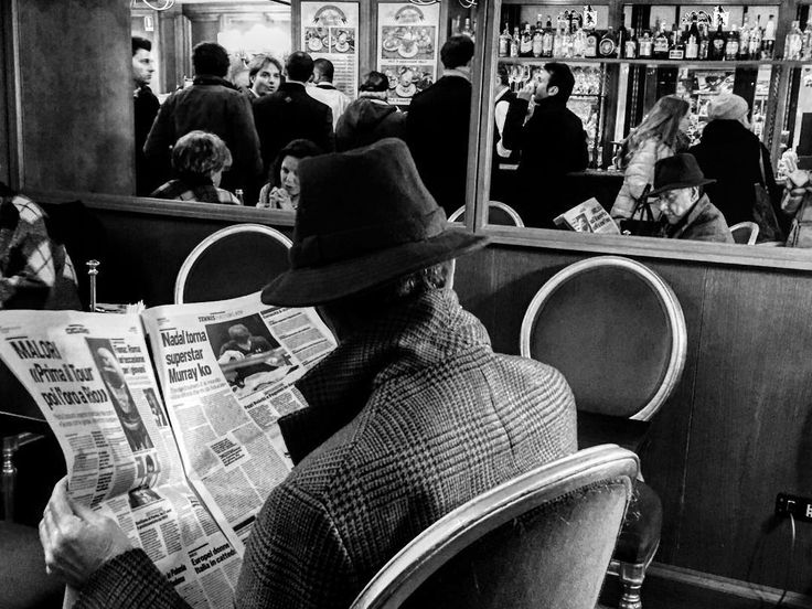 """""""Man at the cafe"""" Pic by @xhoanam #callme_blest #man #cafe #newspaper #reading #takeyourtime #milan #milano #caffesancarlo #city #lifegoeson #lovehim #photo #picoftheday #photooftheday #photographer #igers #istagram #instamoments #moments #blackandwhite #followphotographer"""