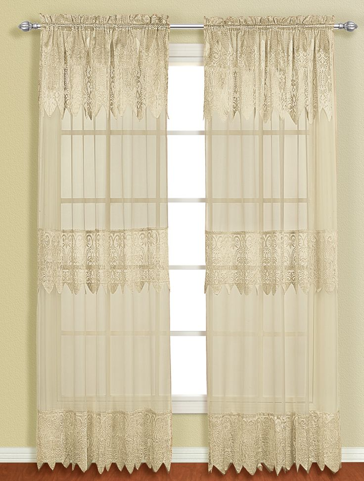 45 best Lace Curtains images on Pinterest | Lace curtains, Floral ...