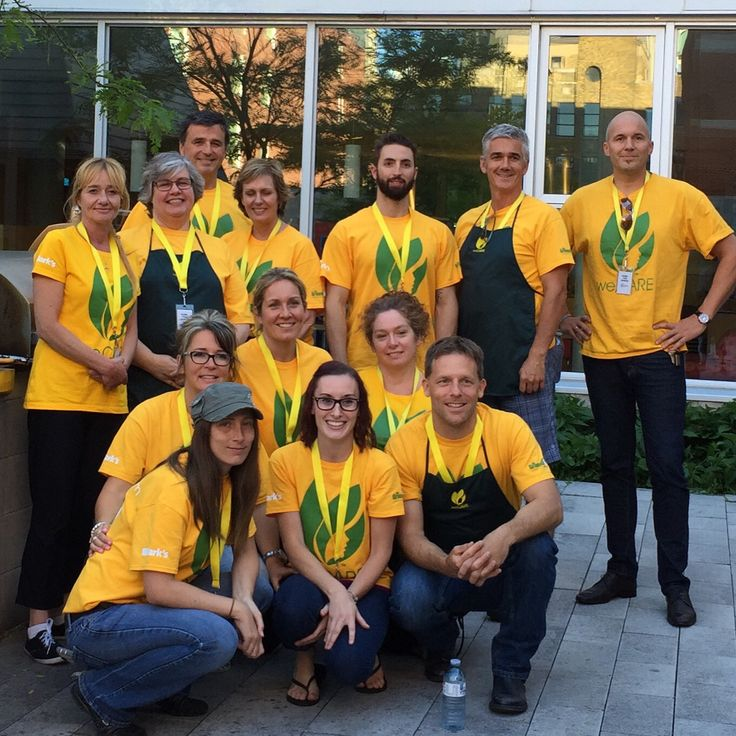 Great team helping out and Caring at the RMHC in Toronto! #WorkPlayCare #WorkSmart #PlayHard #CARE #CareMore #WeCare #RMHC