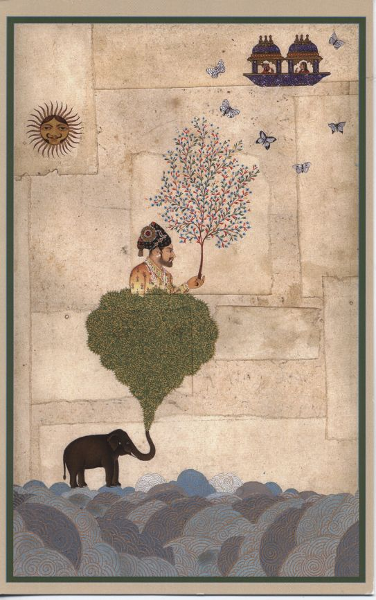 Riyaz Uddin is an Indian miniature painter from Jaipur. He has collaborated with British artist Alexander Gorlizki