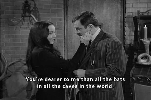 Gomez And Morticia Addams Have The Love To End All Loves