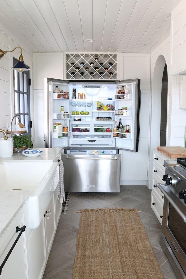 Kitchen Remodel Details: KitchenAid Appliances | French Door Counter Depth Refrigerator