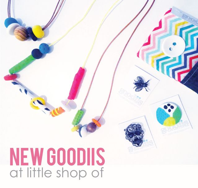 NEW Goodiis in-store at Little Shop Of! http://littleshopof.bigcartel.com/ www..goodiis/com