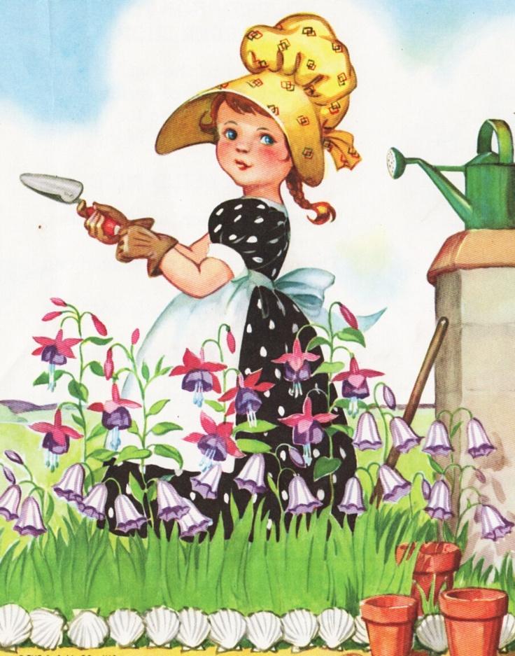 Картинка про огородницу