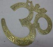 Gorgeous Brass OM Symbol