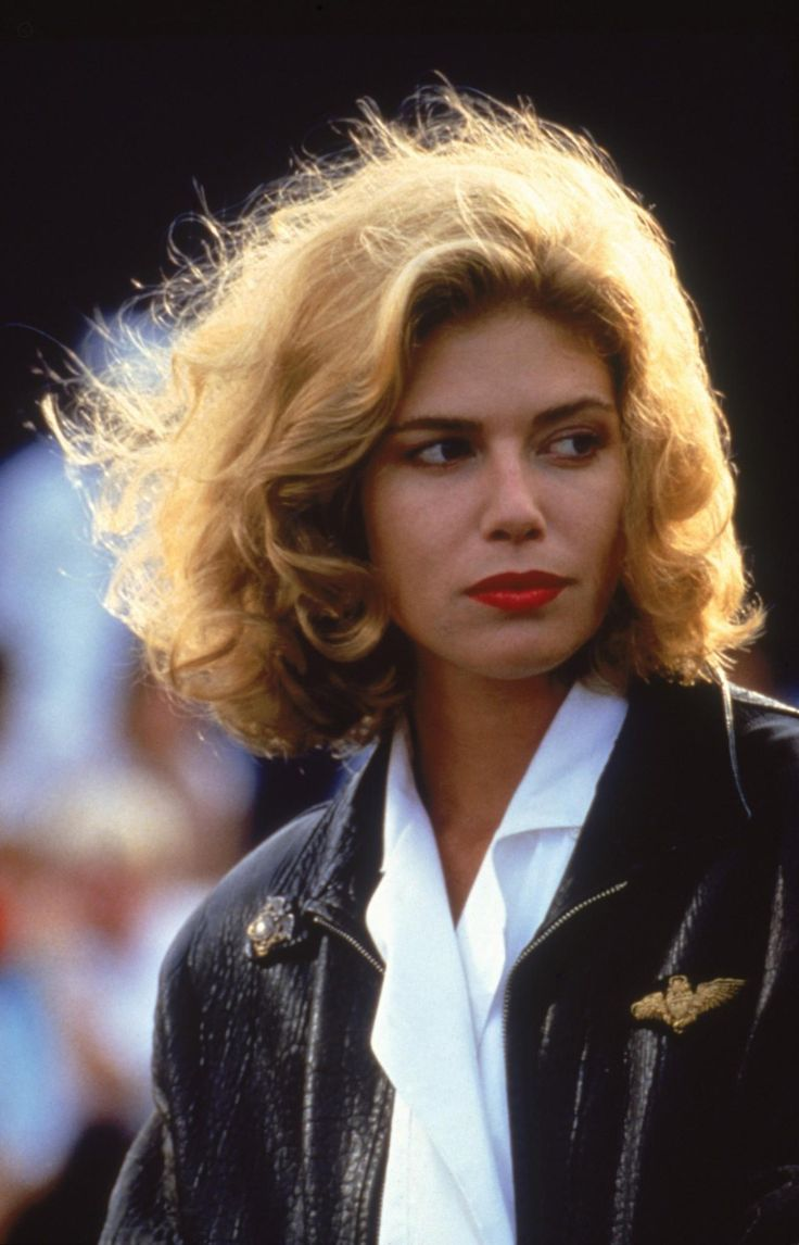 "Kelly McGillis en ""Top Gun"", 1986"