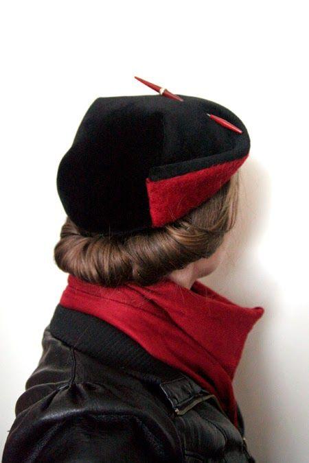 Kittens Klädkammare: Hattdag ~ hat day