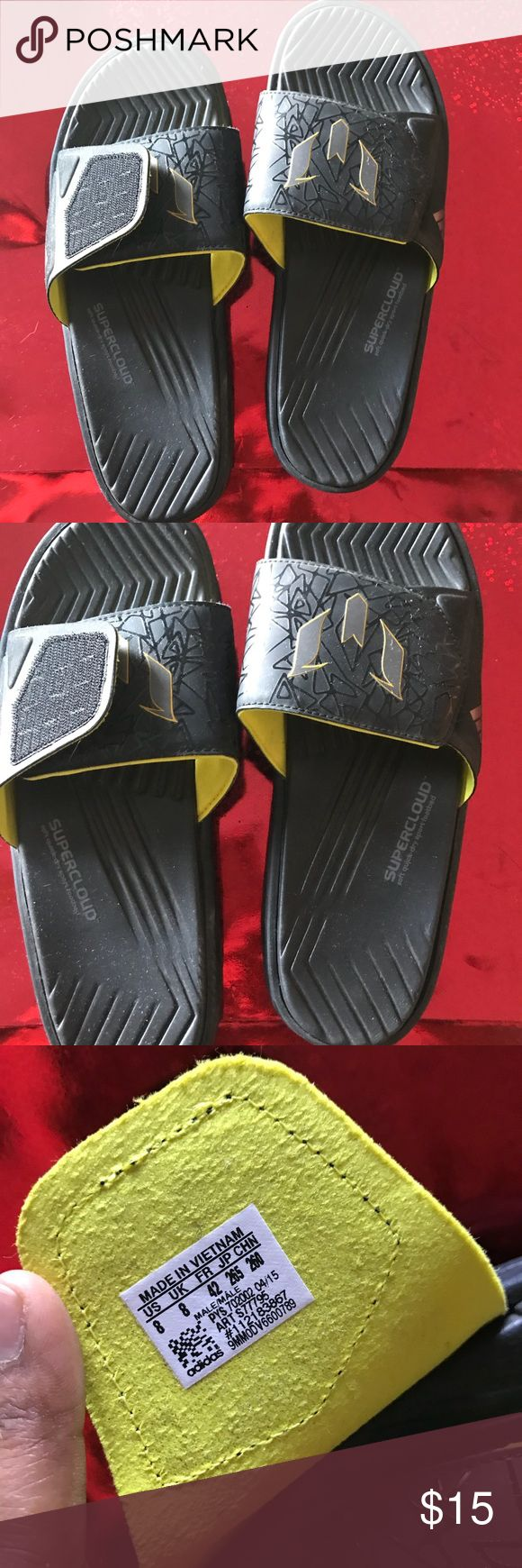Adidas sandals Never used adidas Shoes Sandals & Flip-Flops