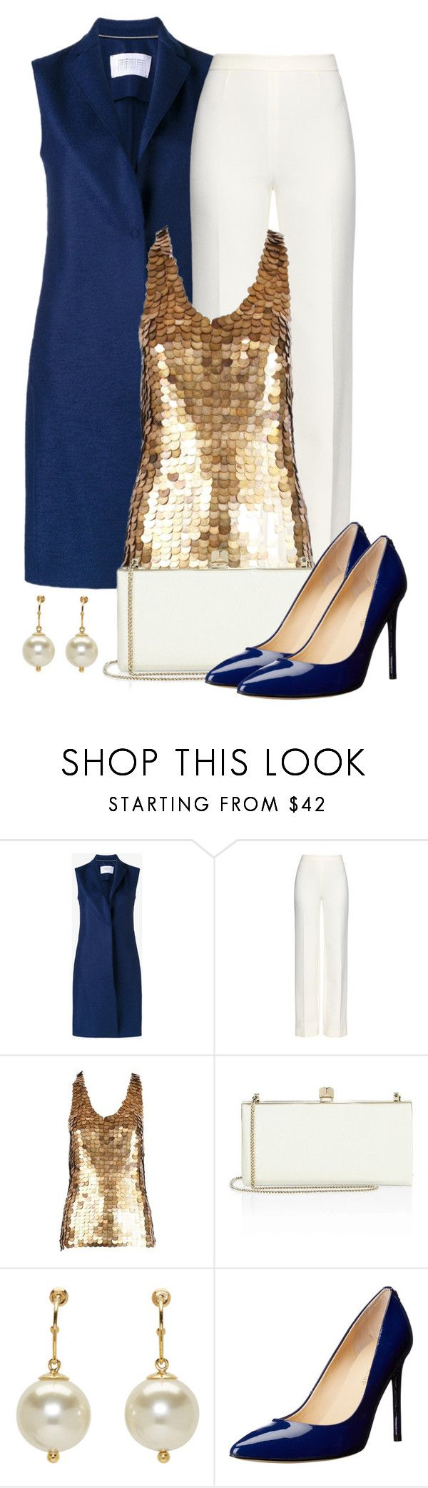 """Untitled #1471"" by gallant81 ❤ liked on Polyvore featuring Harris Wharf London, Diane Von Furstenberg, Alexander McQueen, Jimmy Choo, Simone Rocha and Ivanka Trump"