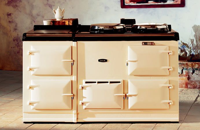 The 4-oven AGA Classic cooker in Cream.In My Dreams, Dreams Kitchens, Aga Cooker, Dreams House, Cooking, Ovens, Cream, Dreams Stoves, Aga Stoves