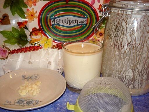 Recette de Kéfir de lait de ma grand-mère