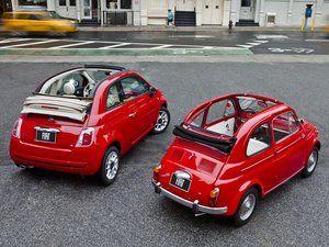 Fiat 500 ancienne nouvelle