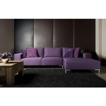 Purple design Loungebank - Max Wonen Havelte