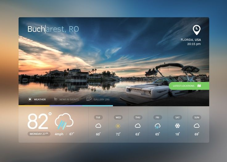 Mixed UI/UX designs for your inspiration   From up North