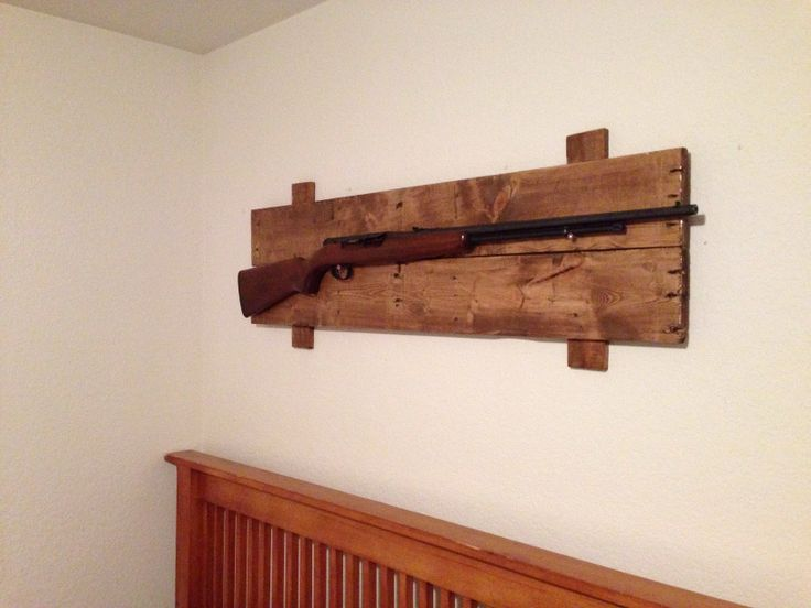 Gun Rack Nice And Simple Perfect For My Laundry Room
