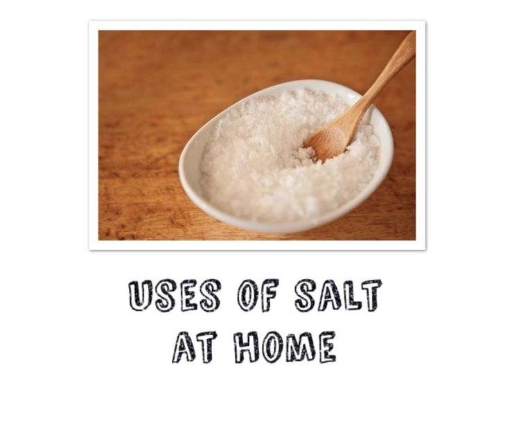 One of the best makes use of of salt