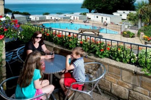 John Fowler Holidays - Sandaway Beach Holiday Park Berrynarbor, Ilfracombe, Devon. Campsite. Camping. Outdoors. Holiday. Outdoors Holiday. Travel. Swimming Pool. Children Welcome. Pets Welcome. Beach Nearby.