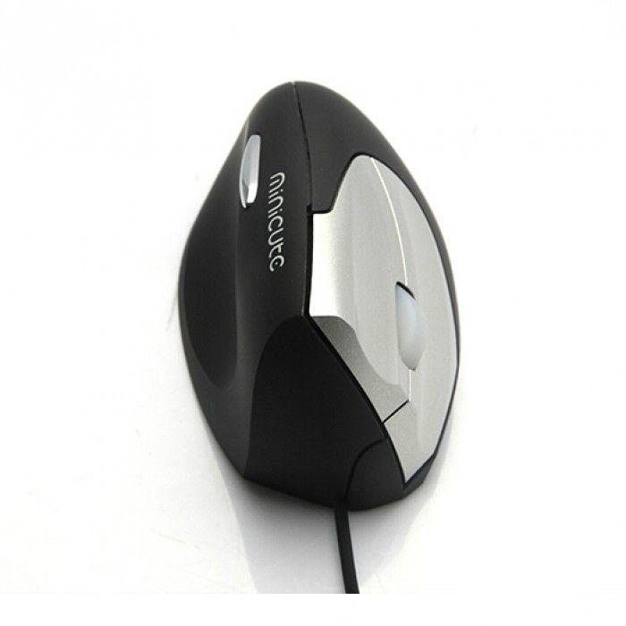 Minicute EZmouse II verticale ergonomische muis - linkshandig