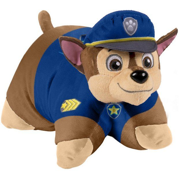 Buy PAW PATROL CHASE 18IN PILLOW PET at Argos.co.uk - Your Online Shop for Teddy bears and soft toys, Toys.