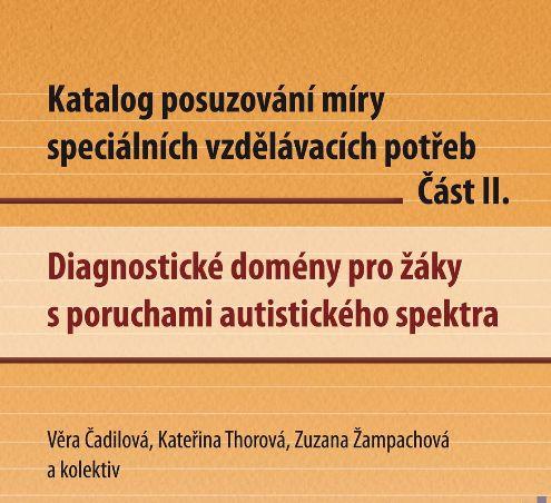 Katalog posuzování míry SVP - poruchy autistického spektra. 2012. Projekt Inovace činností SPC.
