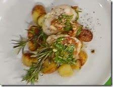 Gnocchi di patate al pecorino con funghi saltati