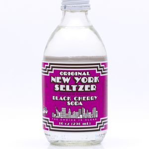 New York Seltzer Black Cherry.  This company was the Arizona / Monster / Red Bull of the 80s.... all in one company!