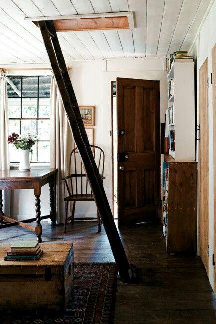 Secret hiding place new home dreaming ideas pinterest - The rustic attic ...
