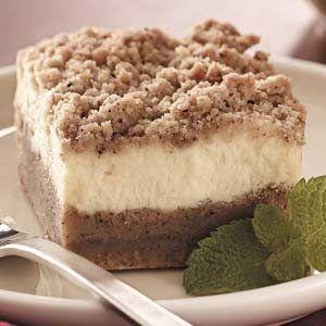 Cheesecake Bars: Healthy Cheesecake Recipes, Desserts Recipes Cheesecake, Coff Cheesecake, Cakes Bar, Cheesecake Bars, Makeovers Cheesecake Bar, Healthier Cheesecake, Bar Recipes, Coffee Cheesecake