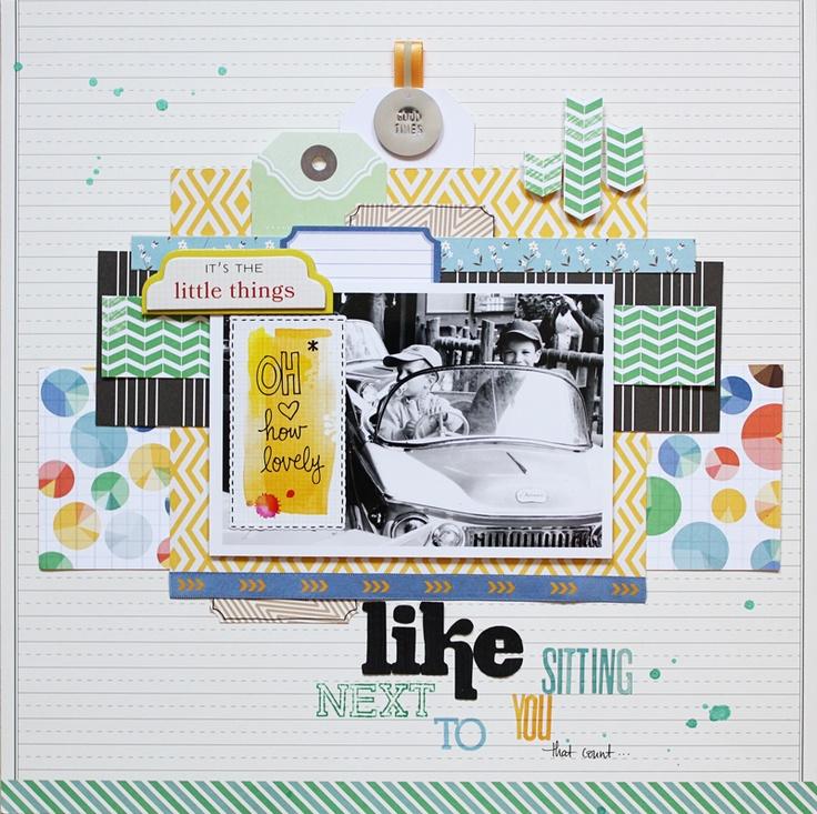 Scrapbooking Boys Layouts   Pinterest   Scrapbooking, American Crafts
