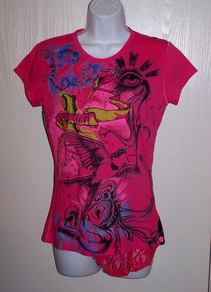 ea36141ee Nuvula wear your imagination Women Graphic Tee T Shirt Top Size M ...