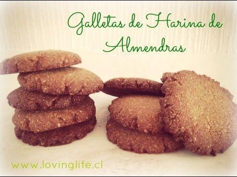 galletas caseras con harina almendras #70