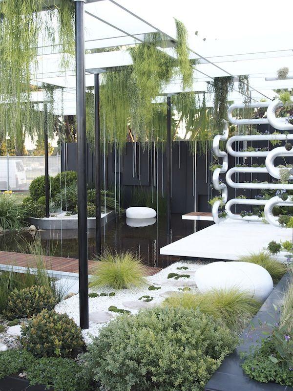 Show gardens at Sydney Garden Show   GardenDrum Brendan Moar 'Suspended' Gold medal & Best in Show