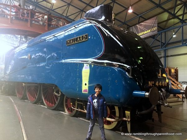 Rambling Through Parenthood : 10 Things To Do at The National Railway Museum, York