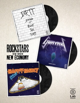 """At some point, we've all dreamed of being a rockstar. Rockstars inspire us. They make us think, """"That's awesome! I want to do that."""" These are the Rockstars of the New Economy."""