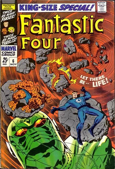 Good luck, Franklin: Sue gives birth to a boy named after her father, but first Reed needs cosmic energy to ensure it's a safe birth, and that energy comes from the Neutral - er, Phantom - er, Negative Zone, especially Annihilus and his Cosmic Control Rod.