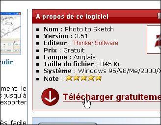 """PC Astuces - Transformer une photo en dessin : """"Photo to Sketch"""""""