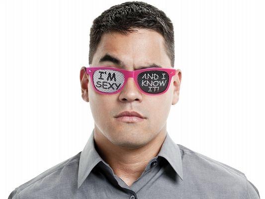 Okulary I'm sexy and I know it!, różowe