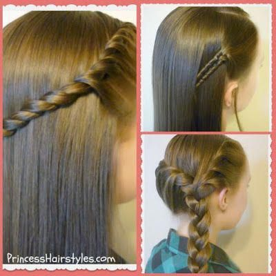 3 Quick And Easy Hairstyles For School Video Tutorials