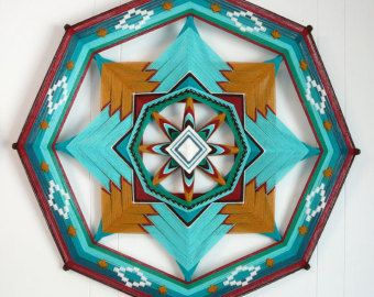 Simplicity's Star an 18-inch 12-sided mandala by