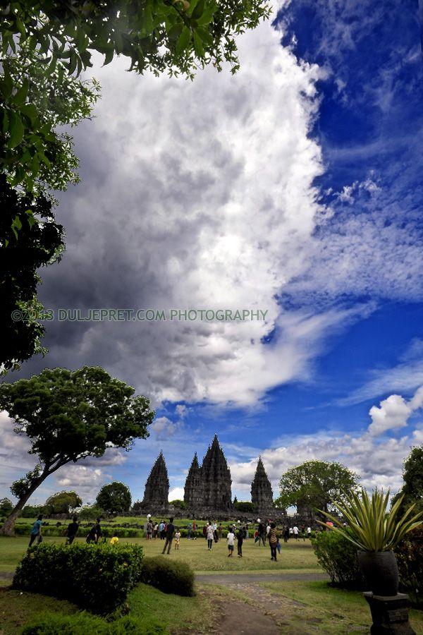 Landscape Candi Prambanan & Candi Prabu Boko | fotovideo.duljepret.com