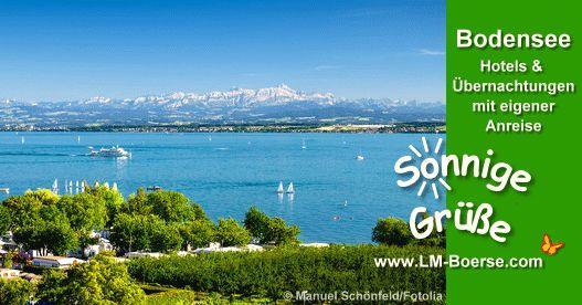 Bodensee - Grenzenloses Urlaubsvergnügen Vier Länder, ein See und über 170 Ausflugsziele machen die Bodenseeregion zum idealen Reiseziel. Mit dem PKW, der Bahn oder dem Flugzeug ist der See ganz leicht zu erreichen. #bodensee #urlaub #reisen #unterkunft #deutschland #österreich #schweiz